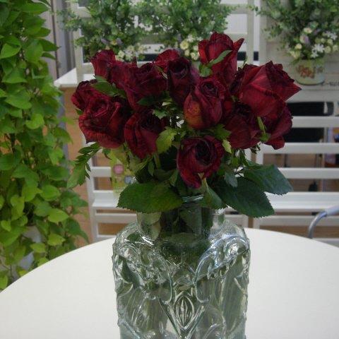 21本のバラ